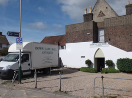 Downlane Hall Antiques Parking